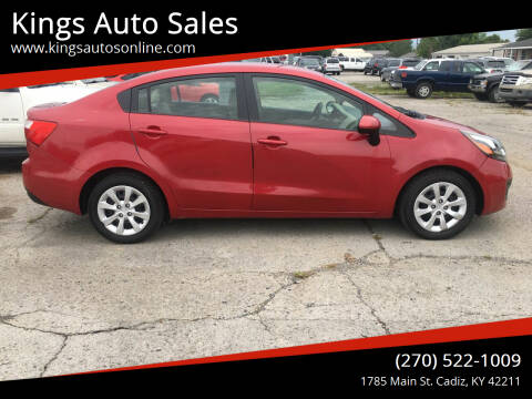 2013 Kia Rio for sale at Kings Auto Sales in Cadiz KY