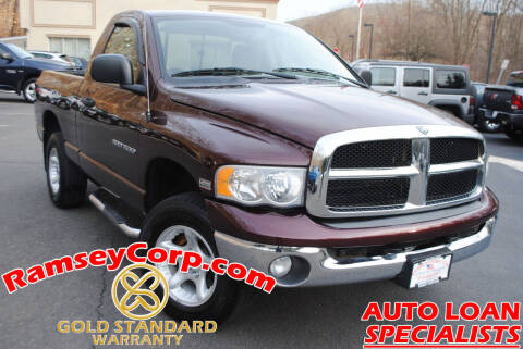 2004 Dodge Ram Pickup 1500 for sale at Ramsey Corp. in West Milford NJ