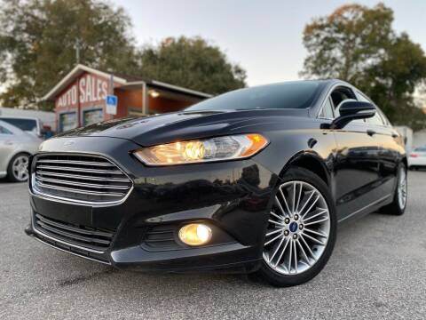 2014 Ford Fusion for sale at CHECK  AUTO INC. in Tampa FL