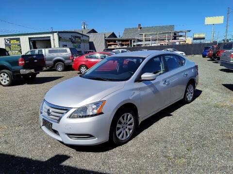 2013 Nissan Sentra for sale at TacomaAutoLoans.com in Tacoma WA