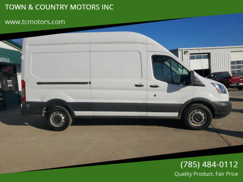 2015 Ford Transit Cargo for sale at TOWN & COUNTRY MOTORS INC in Meriden KS
