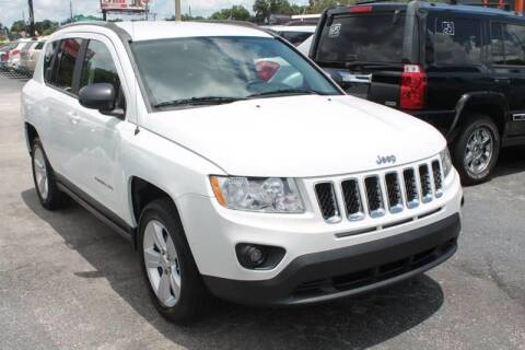 2012 Jeep Compass for sale at Mars auto trade llc in Kissimmee FL