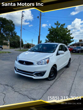 2019 Mitsubishi Mirage for sale at Santa Motors Inc in Rochester NY