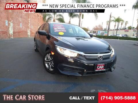 2018 Honda Civic for sale at The Car Store in Santa Ana CA