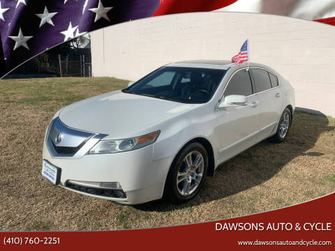 2010 Acura TL for sale at Dawsons Auto & Cycle in Glen Burnie MD