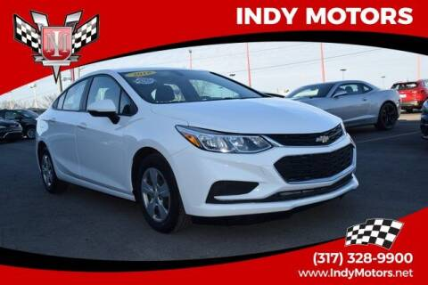 2018 Chevrolet Cruze for sale at Indy Motors Inc in Indianapolis IN