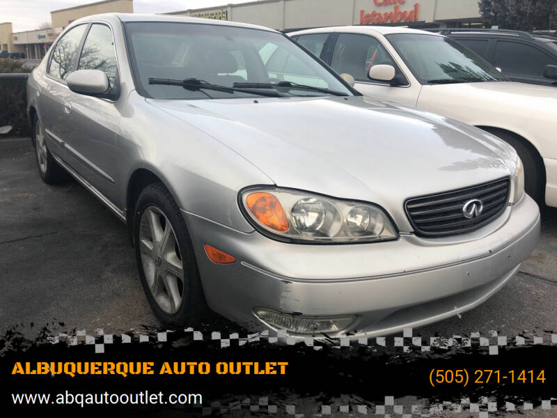 2003 Infiniti I35 for sale at ALBUQUERQUE AUTO OUTLET in Albuquerque NM