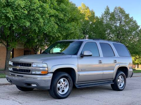 2002 Chevrolet Tahoe for sale at All Star Car Outlet in East Dundee IL