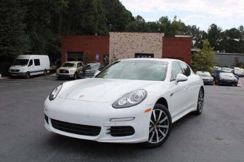 2015 Porsche Panamera for sale at Atlanta Unique Auto Sales in Norcross GA