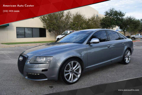 2011 Audi S6 for sale at American Auto Center in Austin TX