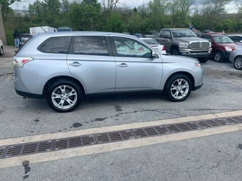 2014 Mitsubishi Outlander for sale at GET N GO USED AUTO & REPAIR LLC in Martinsburg WV