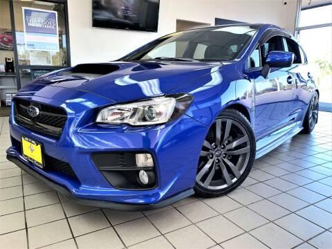 2017 Subaru WRX for sale at SAINT CHARLES MOTORCARS in Saint Charles IL