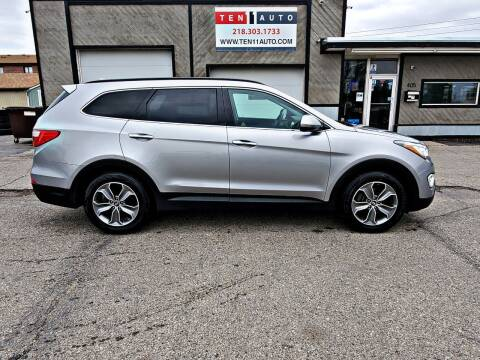 2015 Hyundai Santa Fe for sale at Ten 11 Auto LLC in Dilworth MN