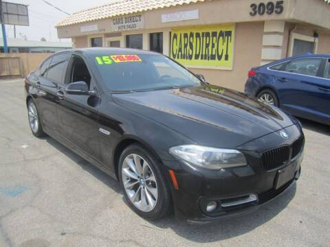2015 BMW 5 Series for sale at Cars Direct USA in Las Vegas NV