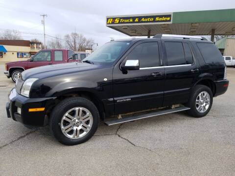 2008 Mercury Mountaineer for sale at R & S TRUCK & AUTO SALES in Vinita OK