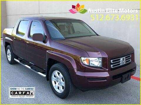 2008 Honda Ridgeline for sale at Austin Elite Motors in Austin TX