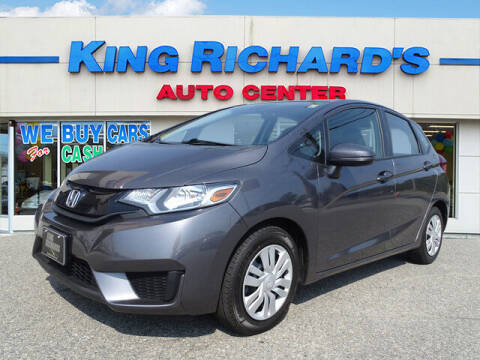 2017 Honda Fit for sale at KING RICHARDS AUTO CENTER in East Providence RI