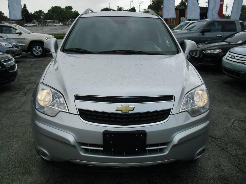 2014 Chevrolet Captiva Sport for sale at SUPERAUTO AUTO SALES INC in Hialeah FL