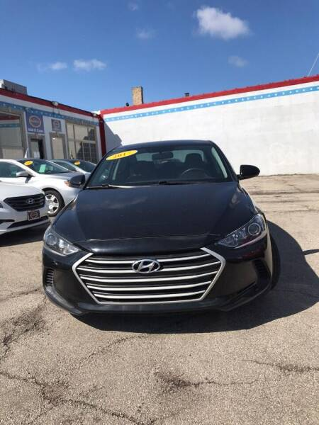 2017 Hyundai Elantra for sale at AutoBank in Chicago IL