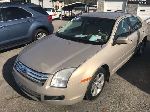 2007 Ford Fusion for sale at RACEN AUTO SALES LLC in Buckhannon WV