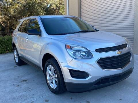 2017 Chevrolet Equinox for sale at Jeff's Auto Sales & Service in Port Charlotte FL