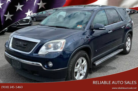 2009 GMC Acadia for sale at Reliable Auto Sales in Roselle NJ