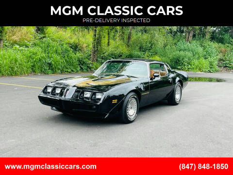 1981 Pontiac Firebird for sale at MGM CLASSIC CARS-New Arrivals in Addison IL