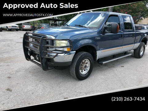 2004 Ford F-250 Super Duty for sale at Approved Auto Sales in San Antonio TX