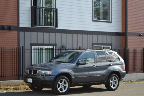 2002 BMW X5 for sale at Skyline Motors Auto Sales in Tacoma WA