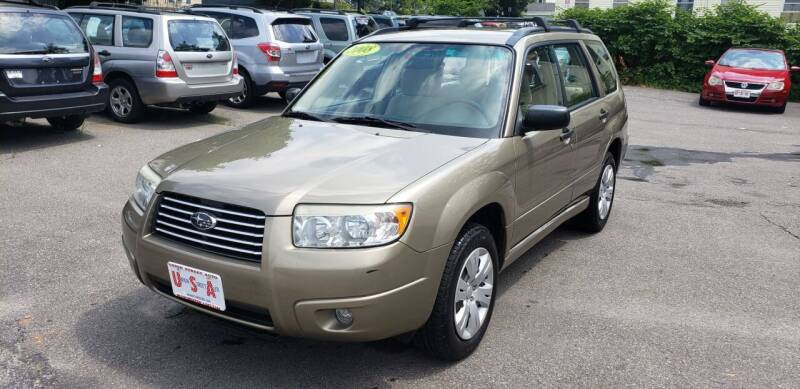 2008 Subaru Forester for sale at Union Street Auto in Manchester NH
