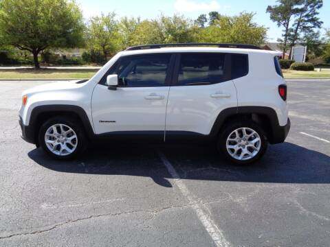 2018 Jeep Renegade for sale at BALKCUM AUTO INC in Wilmington NC