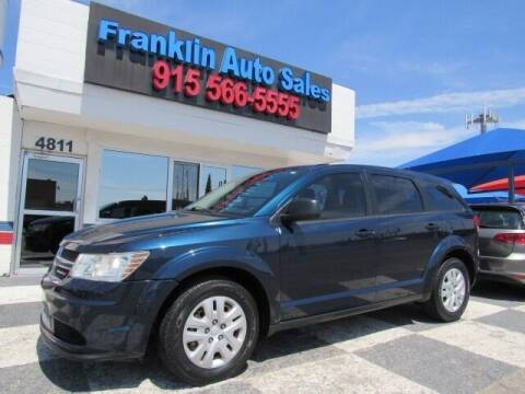2014 Dodge Journey for sale at Franklin Auto Sales in El Paso TX