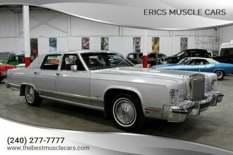 1978 Lincoln Town Car for sale at Erics Muscle Cars in Clarksburg MD