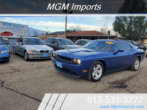 2012 Dodge Challenger for sale at MGM Imports in Cincinnati OH