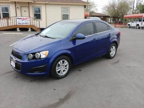 2012 Chevrolet Sonic for sale at Mid Valley Motors in La Feria TX