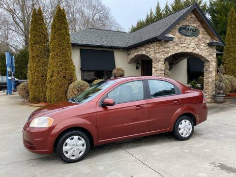 2010 Chevrolet Aveo for sale at Hoyle Auto Sales in Taylorsville NC