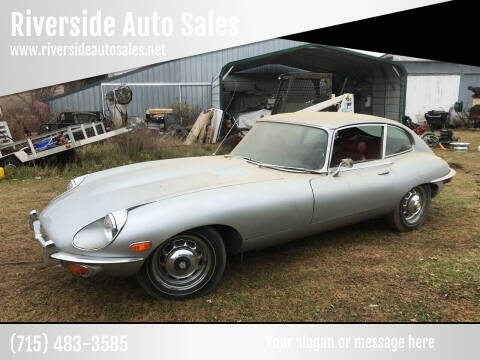 1969 Jaguar E-Type for sale at Riverside Auto Sales in Saint Croix Falls WI