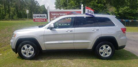 2012 Jeep Grand Cherokee for sale at Super Sport Auto Sales in Hope Mills NC