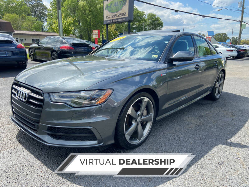 2014 Audi A6 for sale at A-Z Auto Sales in Newport News VA