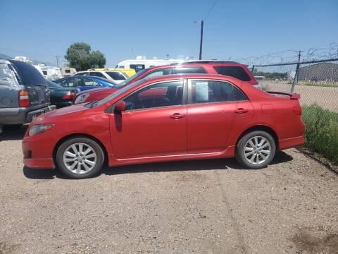 2010 Toyota Corolla for sale at PYRAMID MOTORS - Fountain Lot in Fountain CO