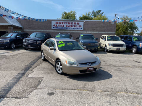 2005 Honda Accord for sale at Brothers Auto Group in Youngstown OH