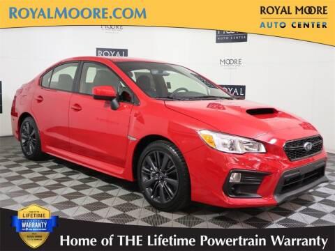2021 Subaru WRX for sale at Royal Moore Custom Finance in Hillsboro OR