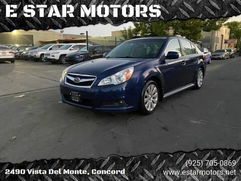 2011 Subaru Legacy for sale at E STAR MOTORS in Concord CA