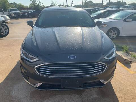 2019 Ford Fusion for sale at 1st Stop Auto in Houston TX