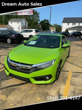 2016 Honda Civic for sale at Dream Auto Sales in South Milwaukee WI