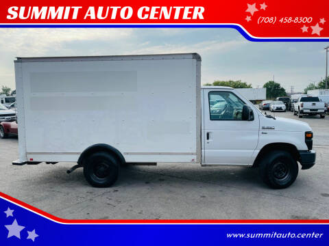 2012 Ford E-Series Chassis for sale at SUMMIT AUTO CENTER in Summit IL