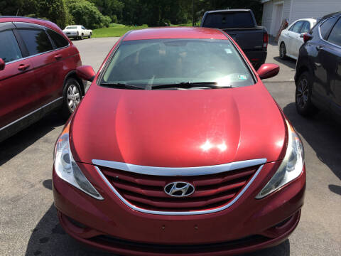 2012 Hyundai Sonata for sale at Karlins Auto Sales LLC in Saratoga Springs NY