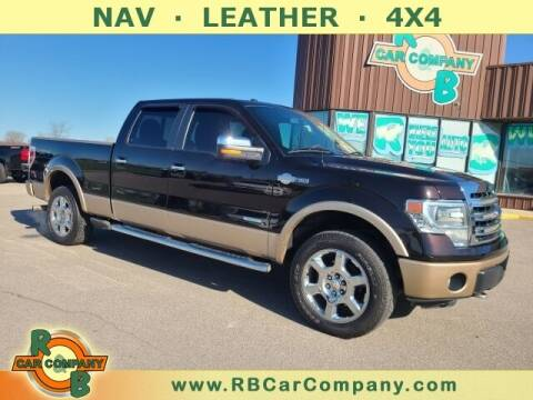2014 Ford F-150 for sale at R & B Car Co in Warsaw IN