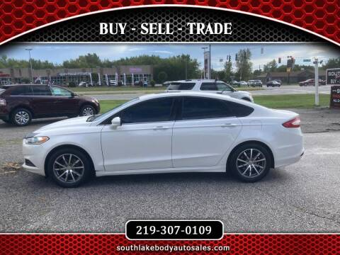 2013 Ford Fusion for sale at Southlake Body Auto Sales in Merrillville IN
