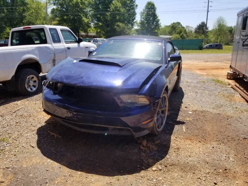 2011 Ford Mustang for sale at NRP Autos in Cherryville NC